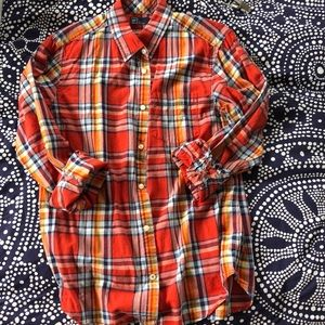 GAP Lived in Long Sleeves Button Down